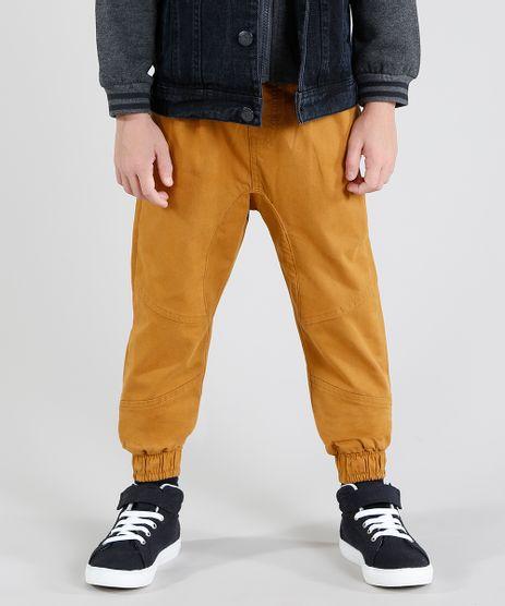 Calca-Color-Infantil-Jogger-com-Bolsos-Caramelo-9453586-Caramelo_1