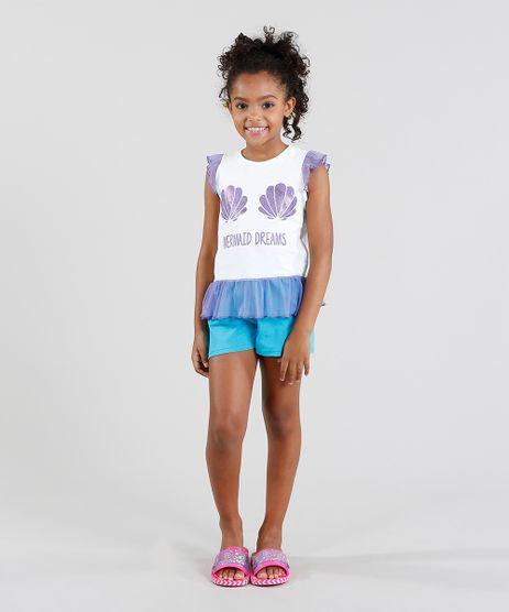 Pijama-Infantil-Sereia-Regata-com-Brilho-e-Tule-Branco-9416406-Branco_1