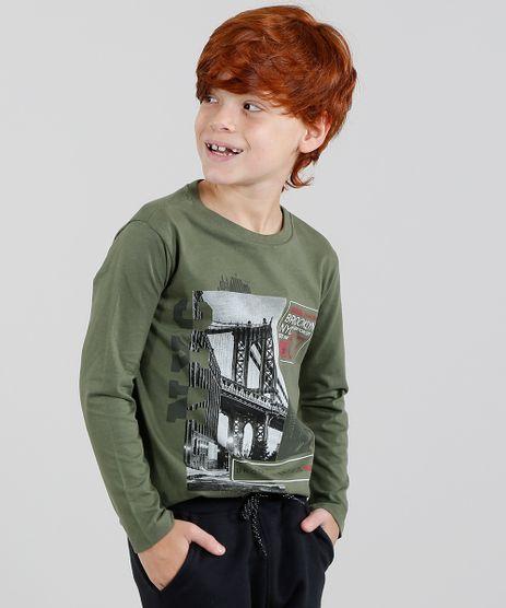 Camiseta-Infantil--Brooklyn-Bridge--Manga-Longa-Gola-Careca-Verde-Militar-9428952-Verde_Militar_1