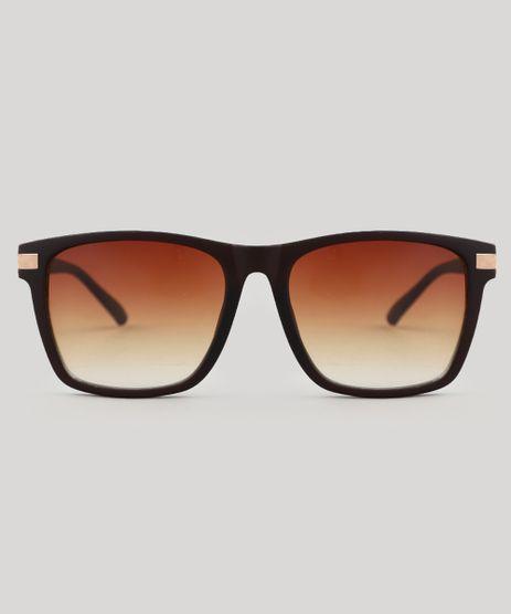 Oculos-de-Sol-Quadrado-Unissex-Oneself-Marrom-9524141-Marrom_1