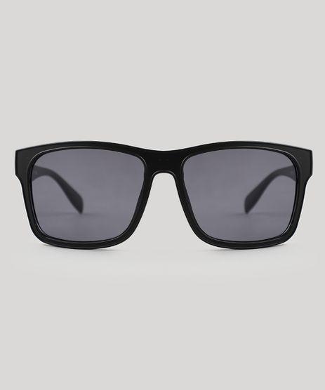32ace75fd5741 Oculos-de-Sol-Quadrado-Unissex-Oneself-Preto-9524147-