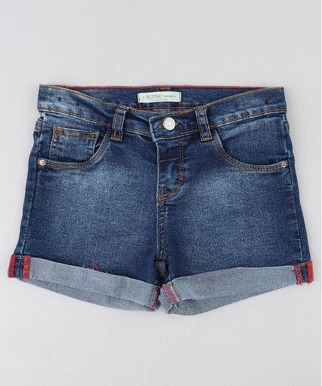 Short-Jeans-Infantil-com-Barra-Dobrada-Azul-Escuro-9137924-Azul_Escuro_1