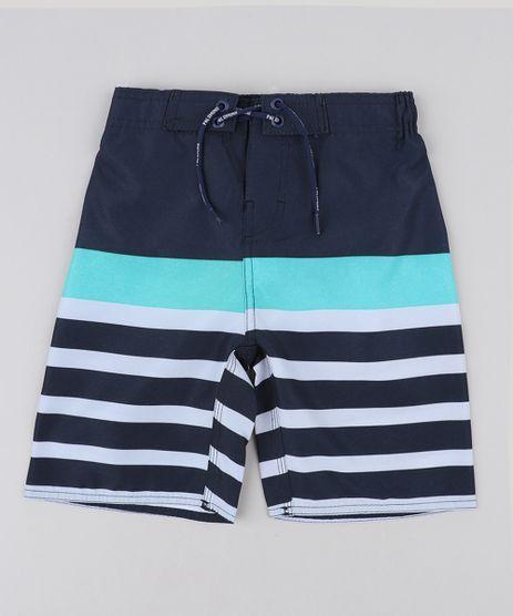 Bermuda-Surf-Infantil-com-Listras-e-Cordao-Azul-Marinho-9475445-Azul_Marinho_1