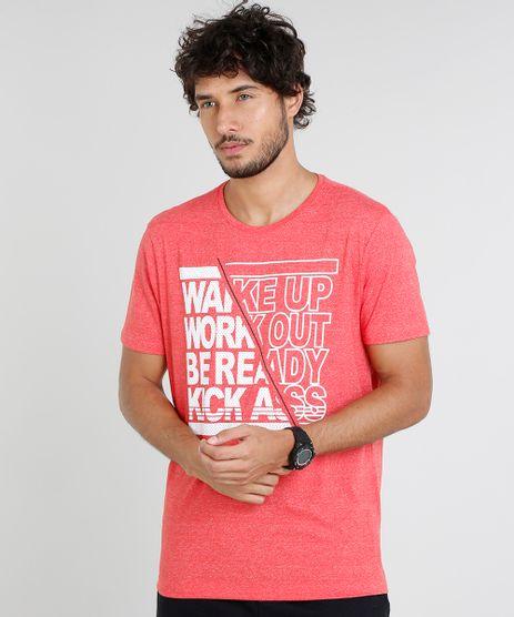 Camiseta-Masculina-Esportiva-Ace--Wake-Up--Manga-Curta-Gola-Careca-Vermelha-9480251-Vermelho_1