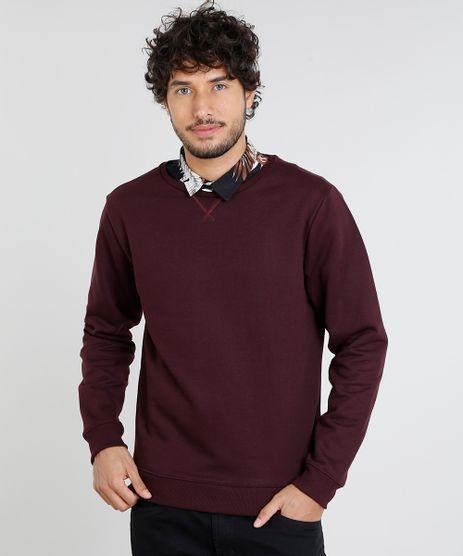 Blusao-Masculino-Basico-em-Moletom-Vinho-9467270-Vinho_1