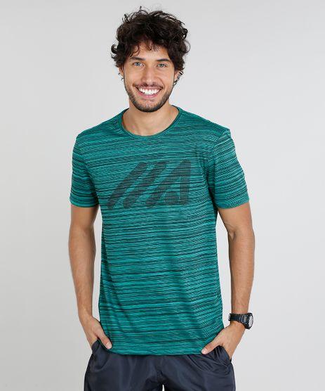Camiseta-Masculina-Esportiva-Ace-Mescla-com-Logo-Manga-Curta-Gola-Careca-Verde-9480248-Verde_1