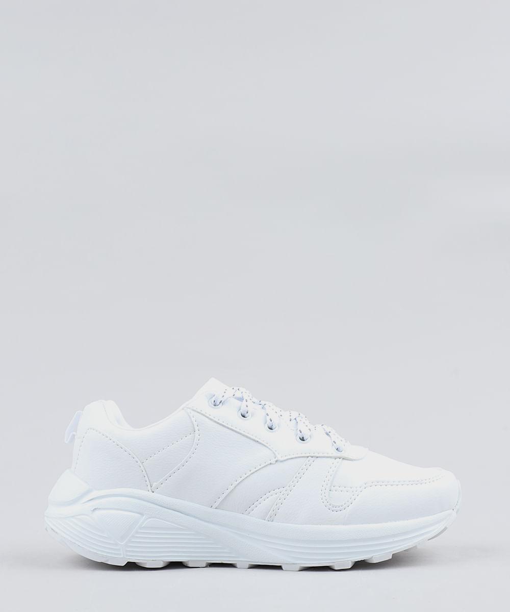 01f2ba2991 ... Tenis-Feminino-Chunky--Branco-9258830-Branco 1
