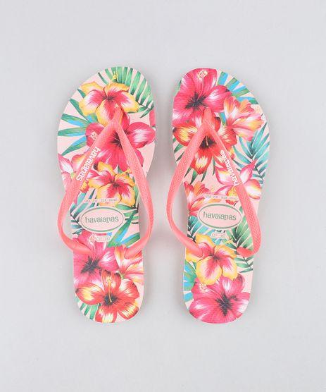 Chinelo-Havaianas-Feminino-Slim-Estampado-Floral-Rosa-9250228-Rosa_1
