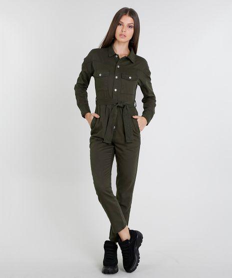 Macacao-de-Sarja-Feminino-com-Bolsos-Manga-Longa-Verde-Militar-9470537-Verde_Militar_1
