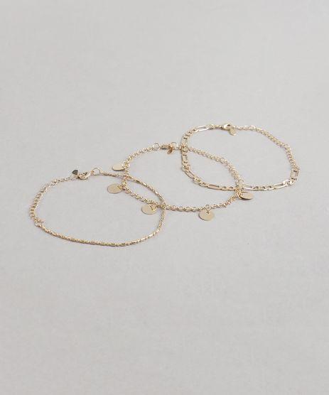 Kit-de-3-Pulseiras-Femininas-Dourada-9435798-Dourado_1