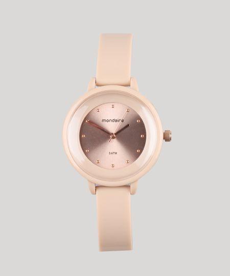 6bf3f14980b Relógio Analógico Mondaine Feminino - 76709LPMVRY1 Rosê - cea