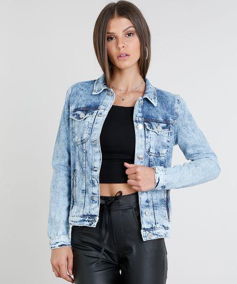 Jaqueta-Jeans-Feminina-com-Bolsos-Azul-Claro-9463441-Azul_Claro_1