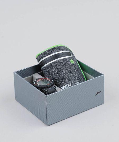 bd2adaa4c Menor preço em Kit de Relógio Digital Speedo Masculino + Porta Objetos -  80611G0EVNP1K Preto -