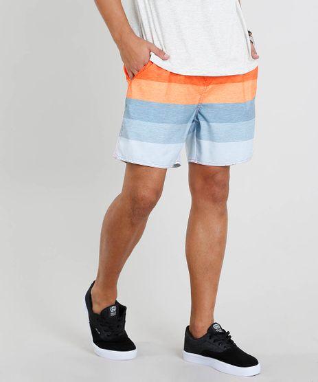 Short-Masculino-Listrado-com-Bolsos-Laranja-9336816-Laranja_1