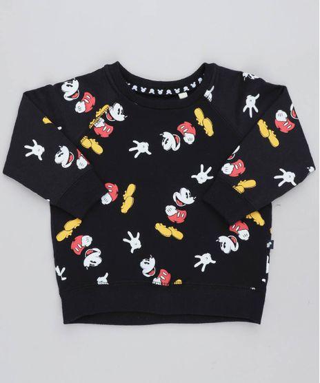 Blusao-Infantil-Mickey-Estampado-em-Moletom--Preto-9168750-Preto_1