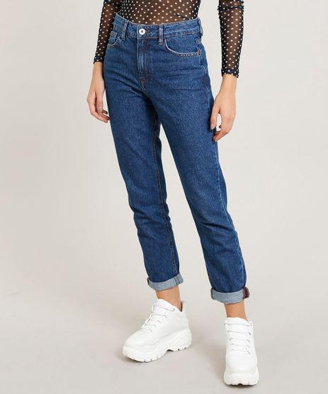 Calca-Jeans-Feminina-Mom-Pants-Azul-Escuro-9204361- 74b621cb6ba