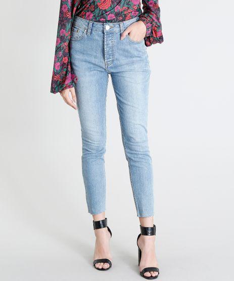 Calca-Jeans-Feminina-Mindset-Skinny-Cintura-Alta-Barra-Desfiada-Azul-Claro-9476612-Azul_Claro_1