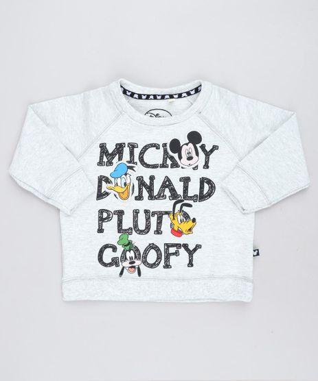Blusao-Infantil-Estampado-Turma-do-Mickey-em-Moletom-Cinza-Mescla-Claro-9140245-Cinza_Mescla_Claro_1