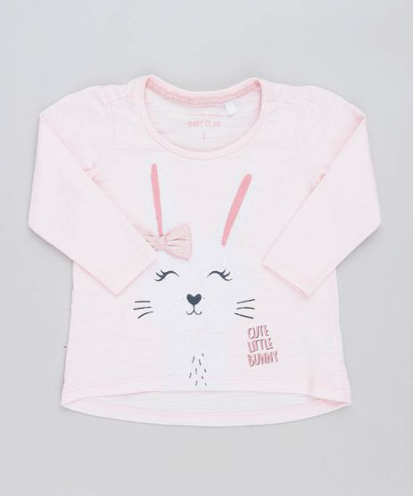Blusa-Infantil-Coelho-com-Laco-Manga-Longa-Decote-Redondo-Rosa-Claro-9471150-Rosa_Claro_1