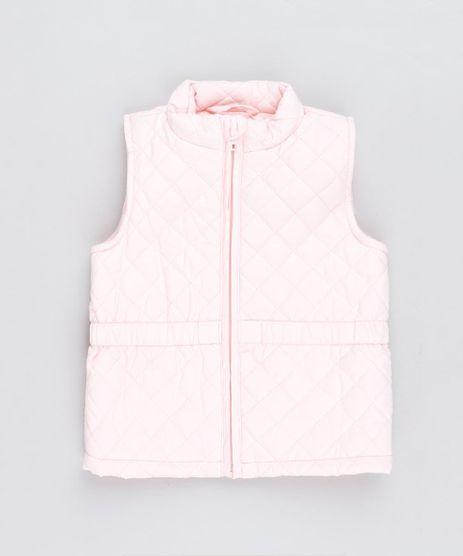Colete-Infantil-Puffer-Matelasse-Rosa-Claro-9349781-Rosa_Claro_1