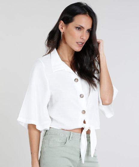Camisa-Feminina-Cropped-com-No-Manga-Curta-Off-White-9460408-Off_White_1