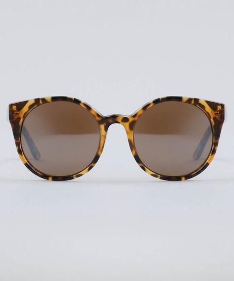 Oculos-de-Sol-Redondo-Feminino-Oneself-Tartaruga-9493395-Tartaruga_1