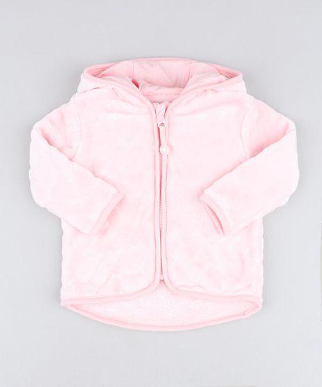 Jaqueta-Infantil-em-Plush-com-Capuz-e-Orelhinhas-Rosa-Claro-9205067-Rosa_Claro_1