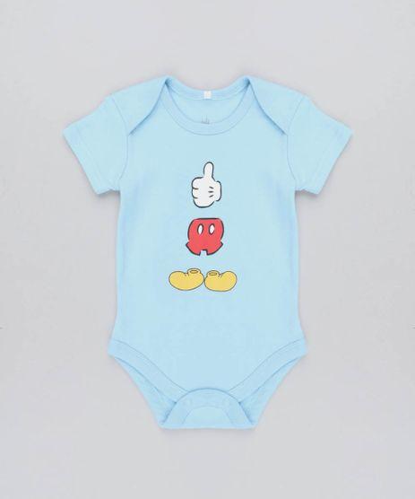 Body-Infantil-Mickey-Manga-Curta-Gola-Careca-Azul-Claro-9190673-Azul_Claro_1