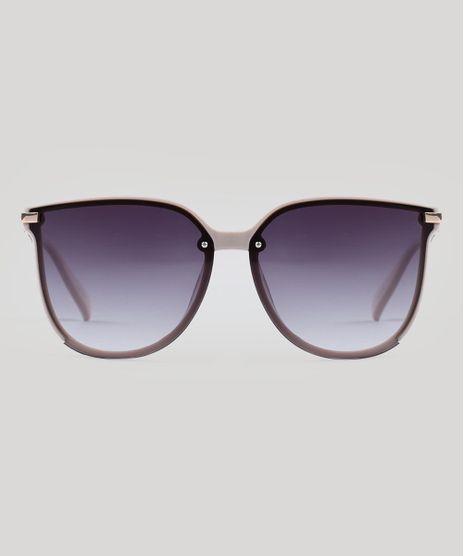 Oculos-de-Sol-Quadrado-Feminino-Oneself-Bege-Claro-9524238-Bege_Claro_1