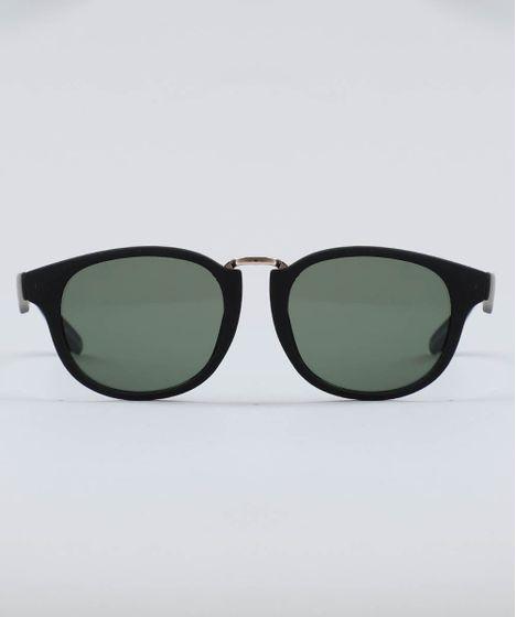 281f660f7 Oculos-de-Sol-Redondo-Feminino-Oneself-Preto-9524220- ...