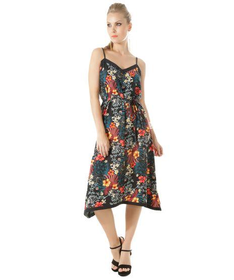 Vestido-Midi-Estampado-Floral-Preto-8364582-Preto_1