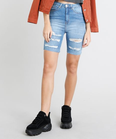 Bermuda-Jeans-Feminina-Ciclista-Destroyed-Azul-Claro-9463416-Azul_Claro_1