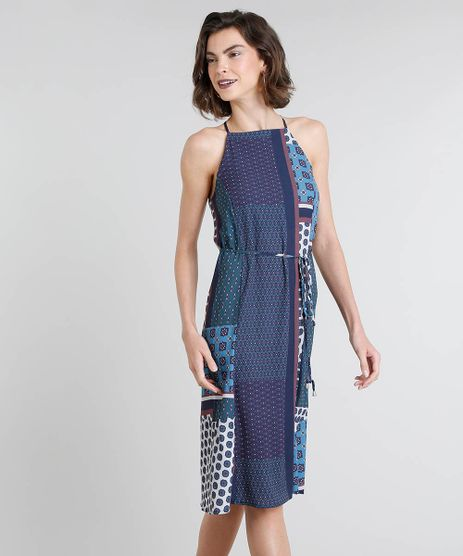 Vestido-Feminino-Midi-Halter-Neck-Estampado-com-Amarracao-Azul-Marinho-9449655-Azul_Marinho_1