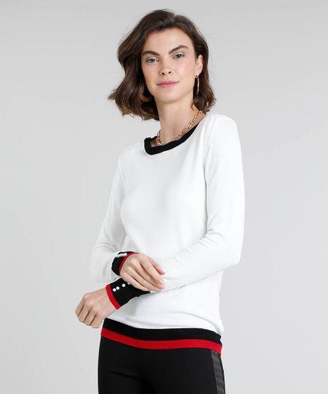 Sueter-Feminino-em-Trico-com-Perola-Decote-Redondo-Off-White-9360228-Off_White_1