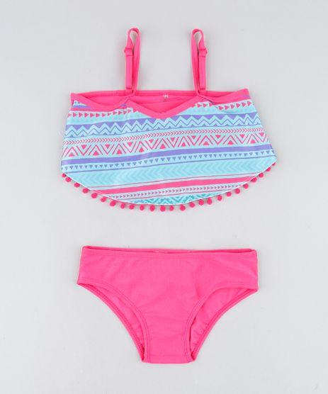 Biquini-Infantil-com-Estampa-Etnica-Protecao-UV50--Pink-9419673-Pink_1
