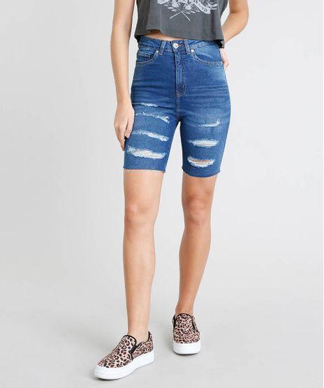 Bermuda-Jeans-Feminina-Ciclista-Destroyed-Azul-Medio-9463417-Azul_Medio_1