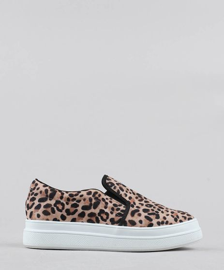 Tenis-Slip-On-Feminino-Estampado-Animal-Print-Flatform-Bege-9526444-Bege_1
