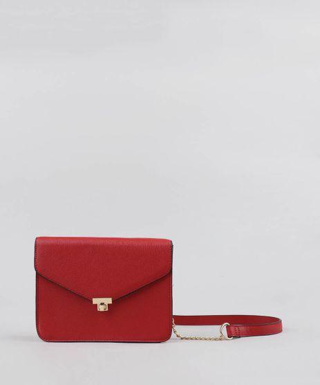 39513ef57 Bolsa-Feminina-Transversal-com-Corrente-Vermelha-9227656-Vermelho_1