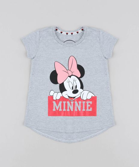 Blusa-Infantil-Minnie-Manga-Curta-Decote-Redondo-Cinza-Mescla-9406268-Cinza_Mescla_1