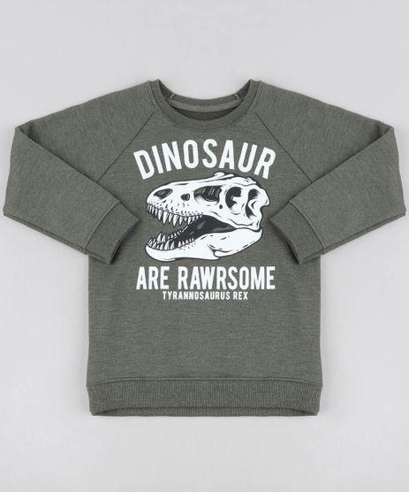 Blusao-Infantil-Dinossauro-em-Moletom-Gola-Careca-Verde-Militar-9456118-Verde_Militar_1