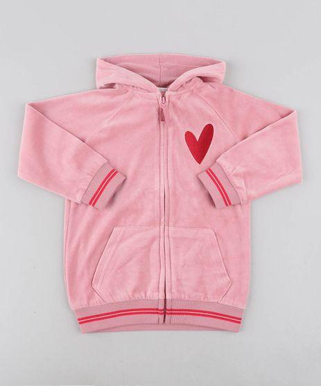Blusao-Infantil-em-Plush-com-Bordado-e-Capuz-Rosa-9362153-Rosa_1