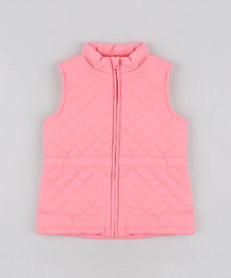 Colete-Infantil-Puffer-Matelasse-Rosa-9344148-Rosa_1