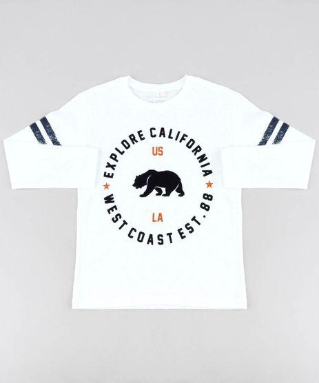 Camiseta-Infantil--Explore-California--Manga-Longa-Gola-Careca-Off-White-9438527-Off_White_1