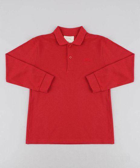 Polo-Infantil-Basica-em-Piquet-Manga-Longa-Vermelha-8556889-Vermelho_1