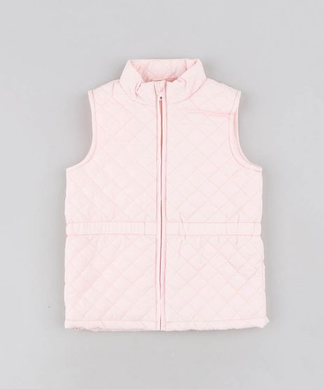 Colete-Infantil-Puffer-Matelasse-Rosa-Claro-9344147-Rosa_Claro_1