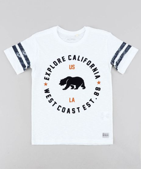 Camiseta-Infantil--Explore-California--Manga-Curta-Gola-Careca-Off-White-9438526-Off_White_1