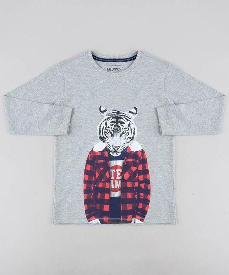 Camiseta-Infantil-Tigre-Manga-Longa-Gola-Careca-Cinza-Mescla-9438468-Cinza_Mescla_1