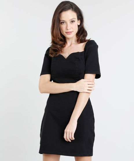 Vestido-Feminino-Mindset-Curto-Manga-Curta-Decote-Princesa-Preto-9561892-Preto_1
