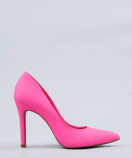 Scarpin-Feminino-Bico-Fino-Mindset-Rosa-Neon-9537544-Rosa_Neon_1