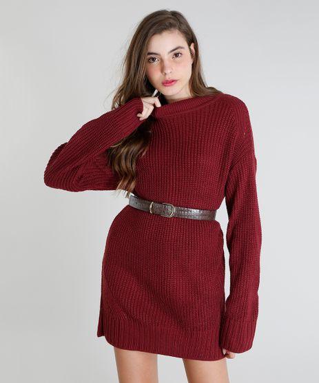 Blusao-em-Trico-Feminino-Mindset-Longo--Vinho-9548121-Vinho_1